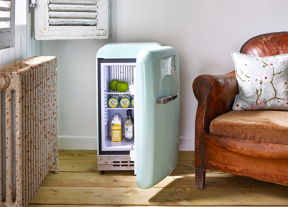 A Mini Fridge with Huge Personality