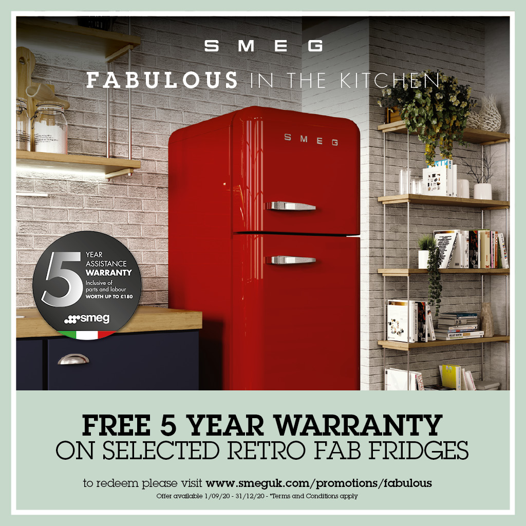 FABULOUS IN THE KITCHEN  5 YEAR WARRANTY PROMOTION