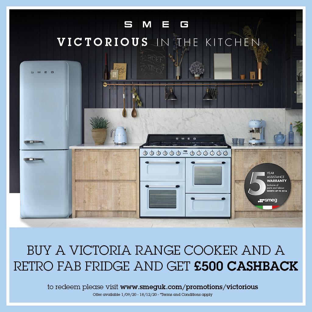 VICTORIOUS IN THE KITCHEN: £500 CASHBACK