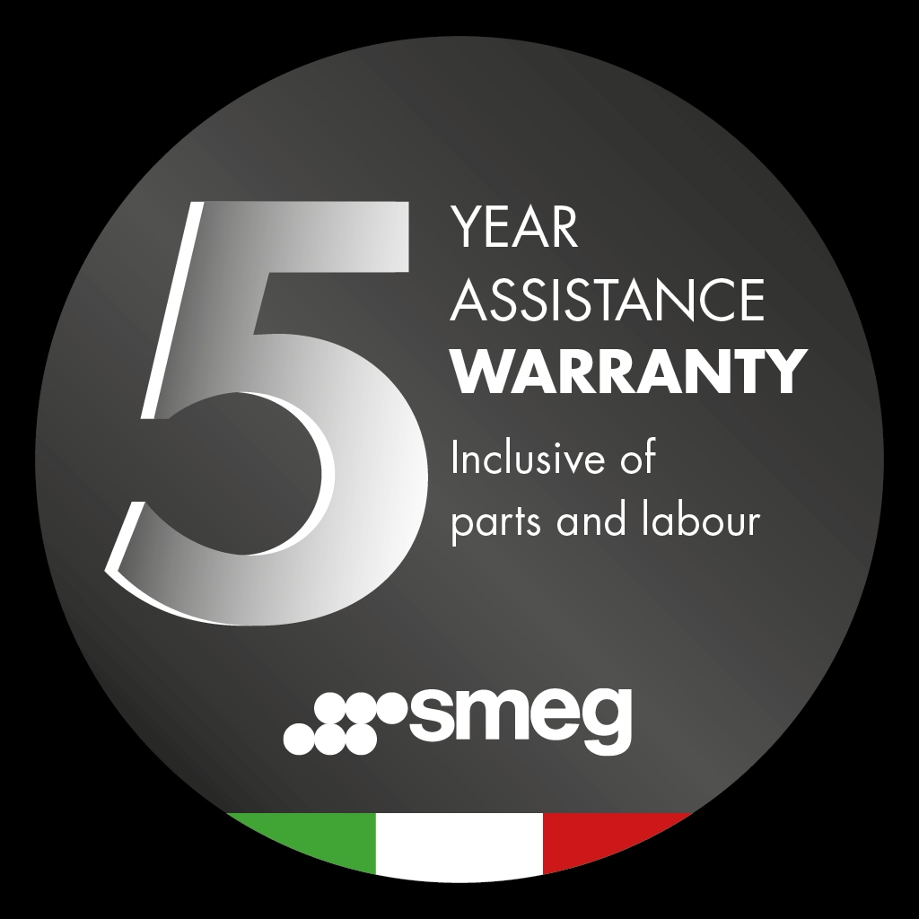 Smeg 5 Year Promotional Manufacturers Warranty
