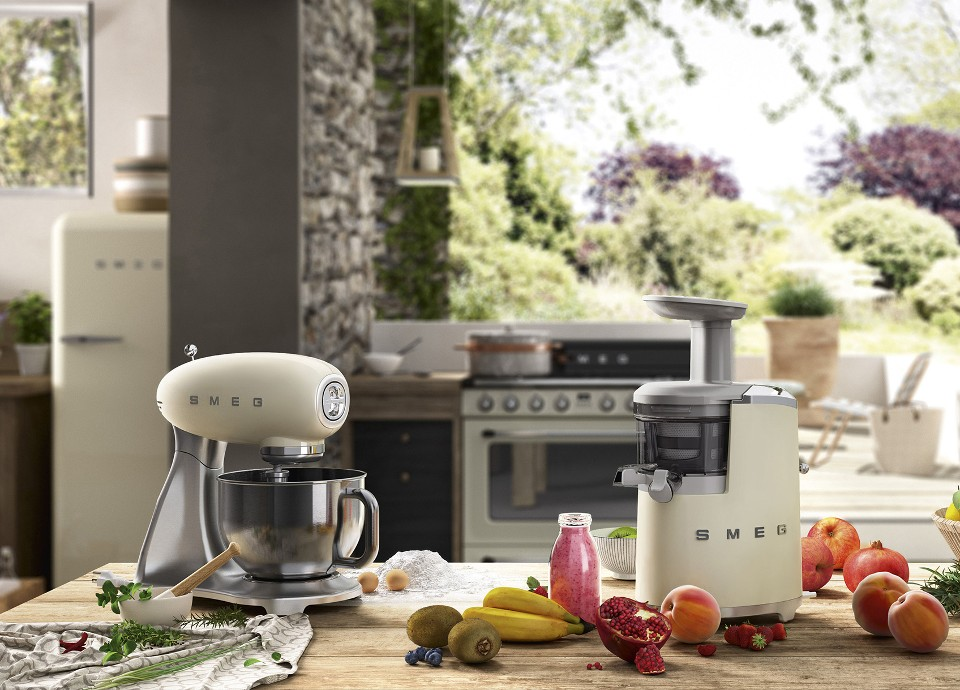 Smeg 50s style small appliances