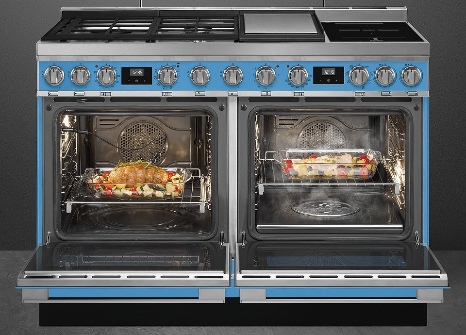 NEW DOUBLE OVEN 120CM COOKER