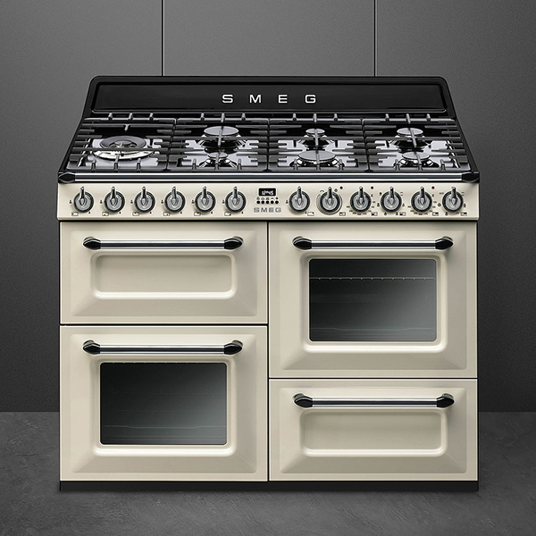 Smeg cookers with gas hob