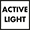 Activelight is an led light which projects a red spot onto the floor beneath the dishwasher when the appliance is in use.